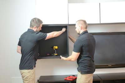 Installation of BESTA cabinets