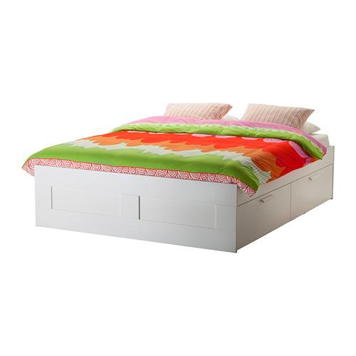 6 brimnes storage bed - Brimnes Bed Frame With Storage